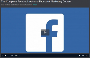 Skillshare Free Facebook Training Program