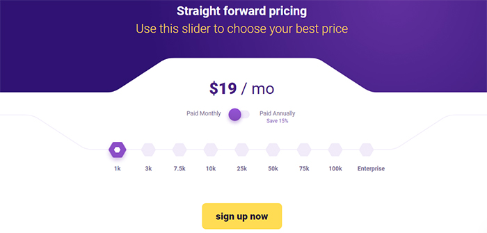 Service Plans and Pricing Monthly